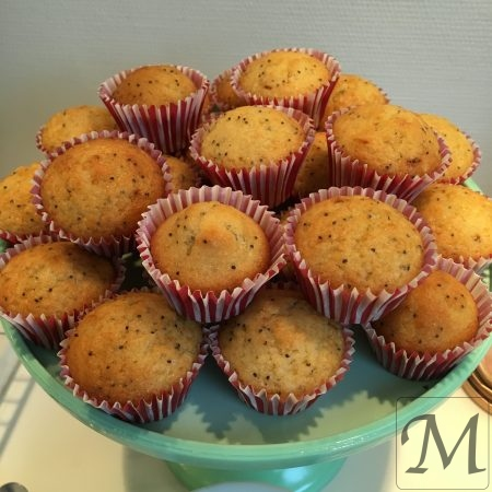 Citron birkes muffins