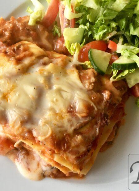 danskernes livretter: lasagne