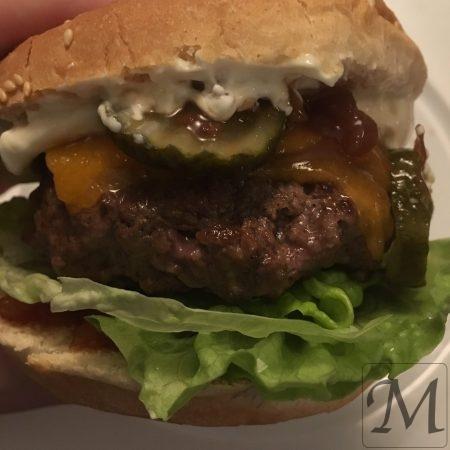 saftig burger