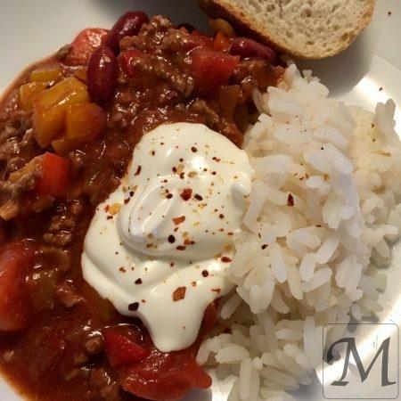 chili con carne ris