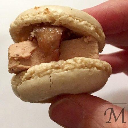 macaron med foie gras