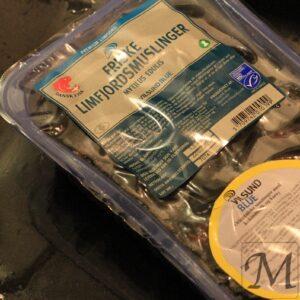 blåmuslinger indpakket