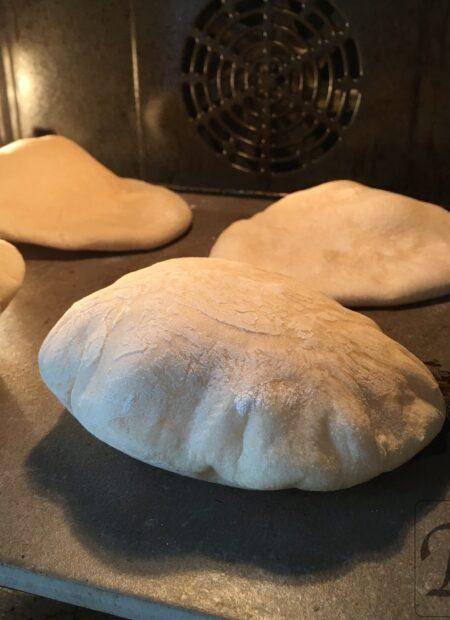 pita på bagesten i ovn