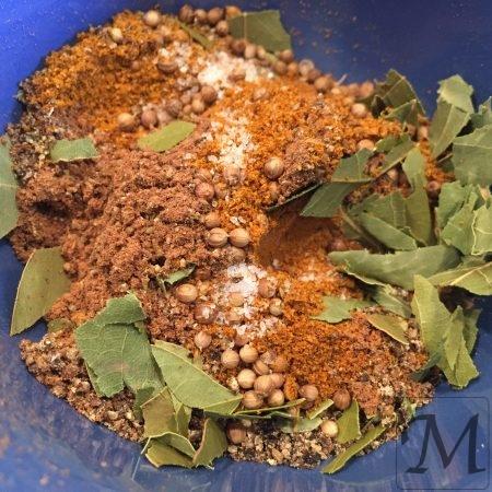 krydderiblanding til flæskesteg