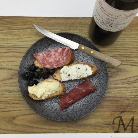 tapas og rødvin
