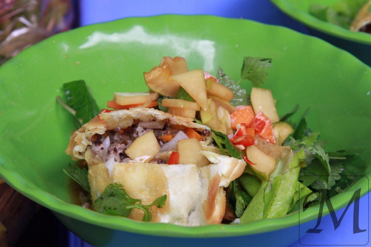 Streetfood i Hanoi i Vietnam