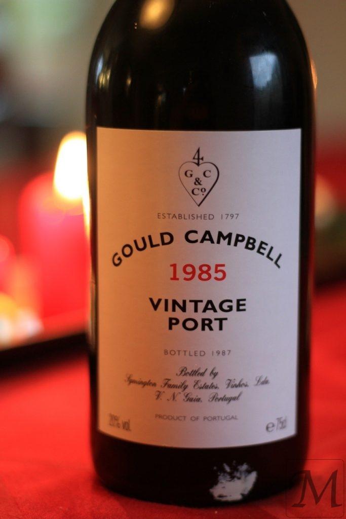 Gould Campbell 1985 portvin