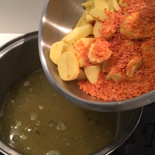 kartofler linser gulerødder