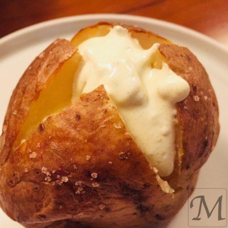 Bagte kartofler med smør
