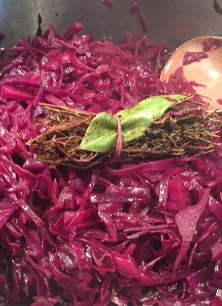 bouquet garni til rødkål