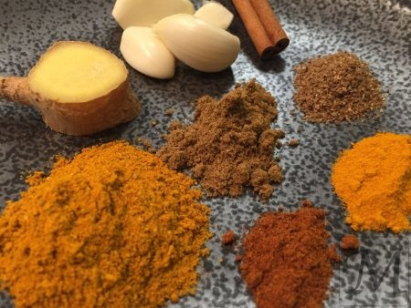 Indisk dahl krydderier