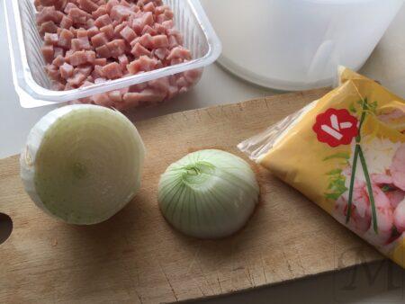 skinkesalat på 5 minutter