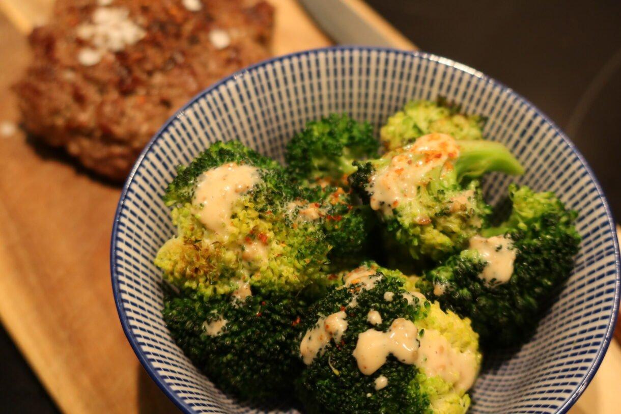 stegt broccoli med goma